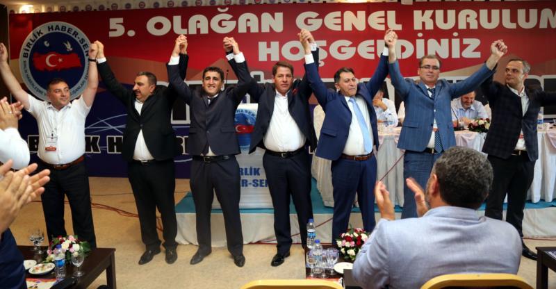 Birlik Haber-Sen Ömer Budak ve Yönetimi Dedi