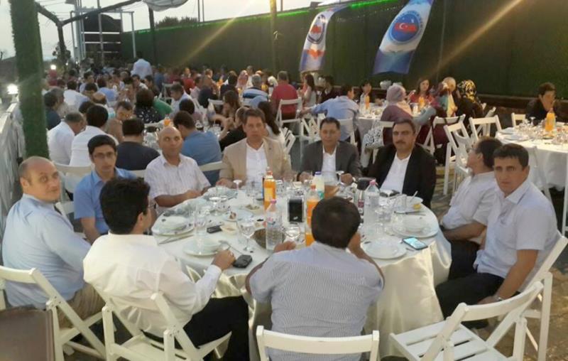İstanbul Anadolu Yakası 3 No'lu Şube Üyeleri İftarda Bir Araya Geldi