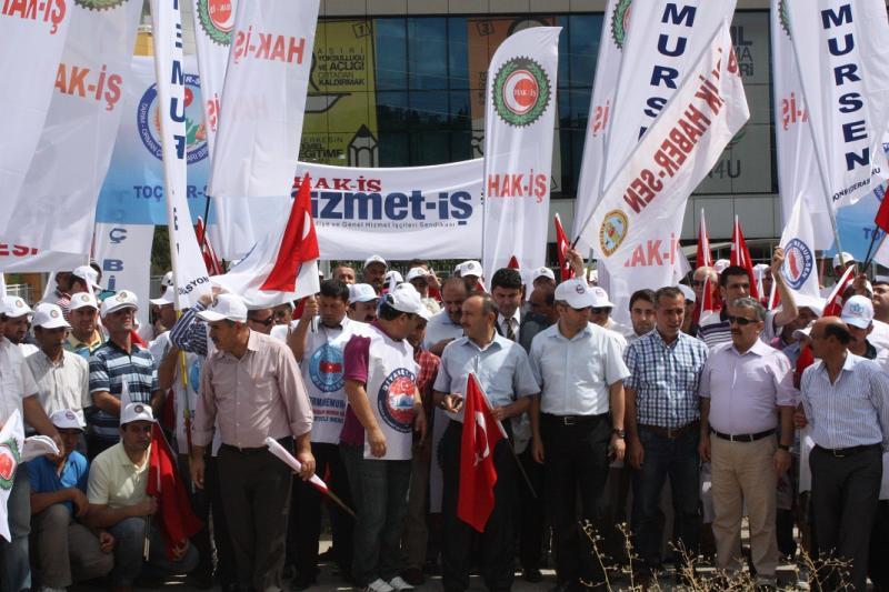 DÜNYA BARIŞ GÜNÜNDE BİRLEŞMİŞ MİLLETLERİ PROTESTO ETTİK