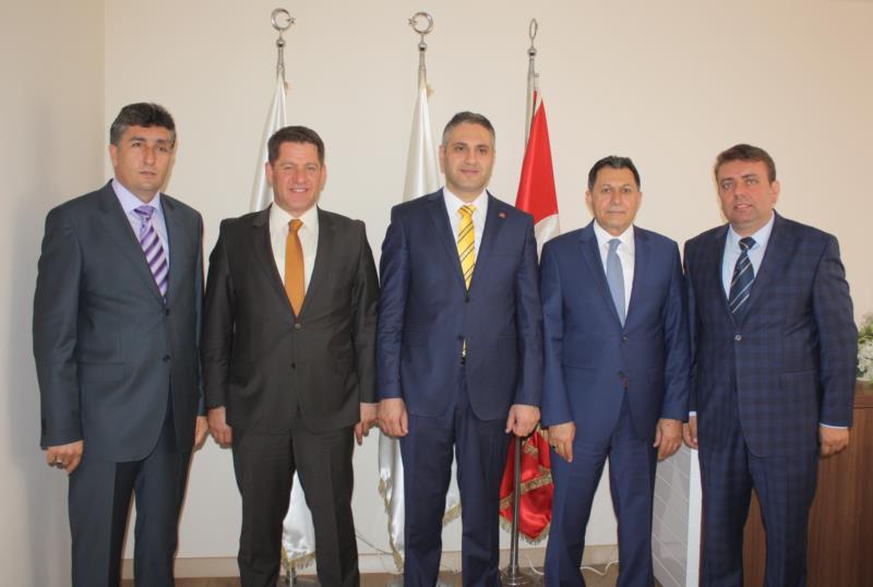 Osmanlı Ocakları'ndan Birlik Haber-Sen'e Ziyaret
