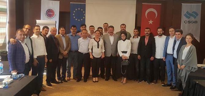 AB Projemizin İstanbul'da Gerçekleşen Eğitimi Tamamlandı