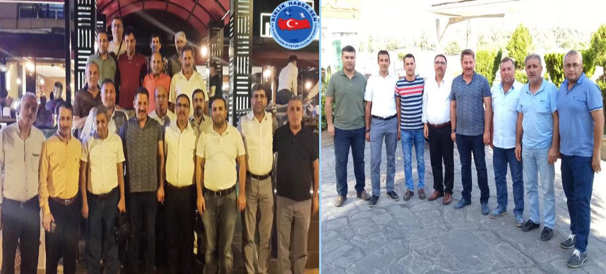 Adana ve Diyarbakır Teşkilatları Ziyaret Edildi
