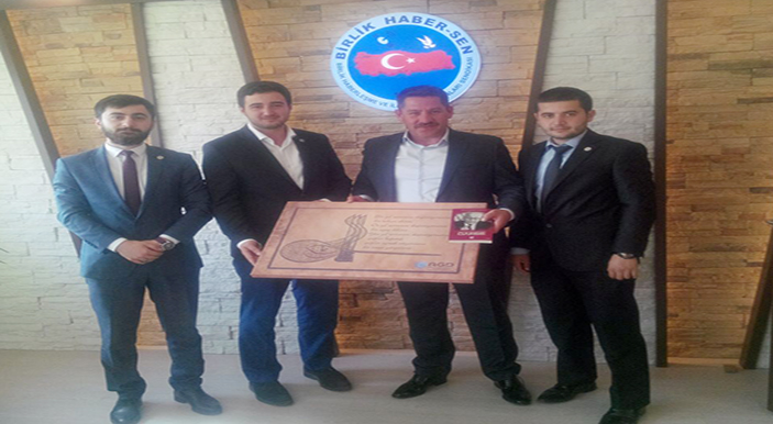 Anadolu Gençlik Derneği'nden Budak'a Ziyaret