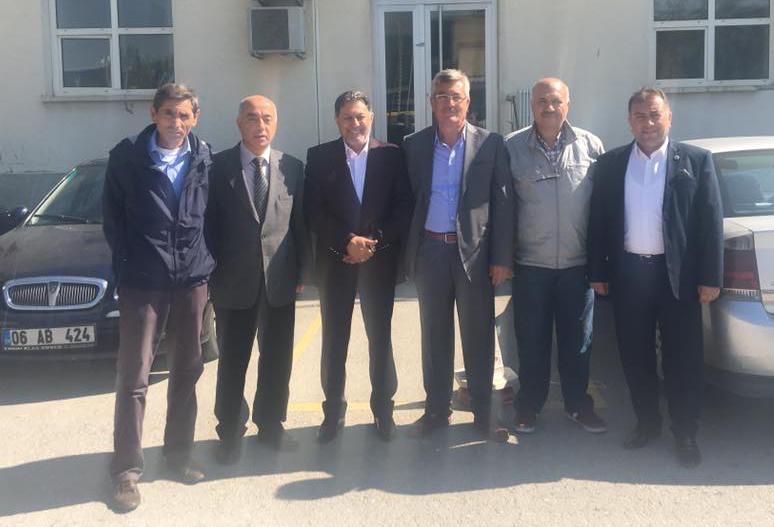 Başkanlarımız Ankara Kargo İşleme Merkezini Ziyaret Ettiler
