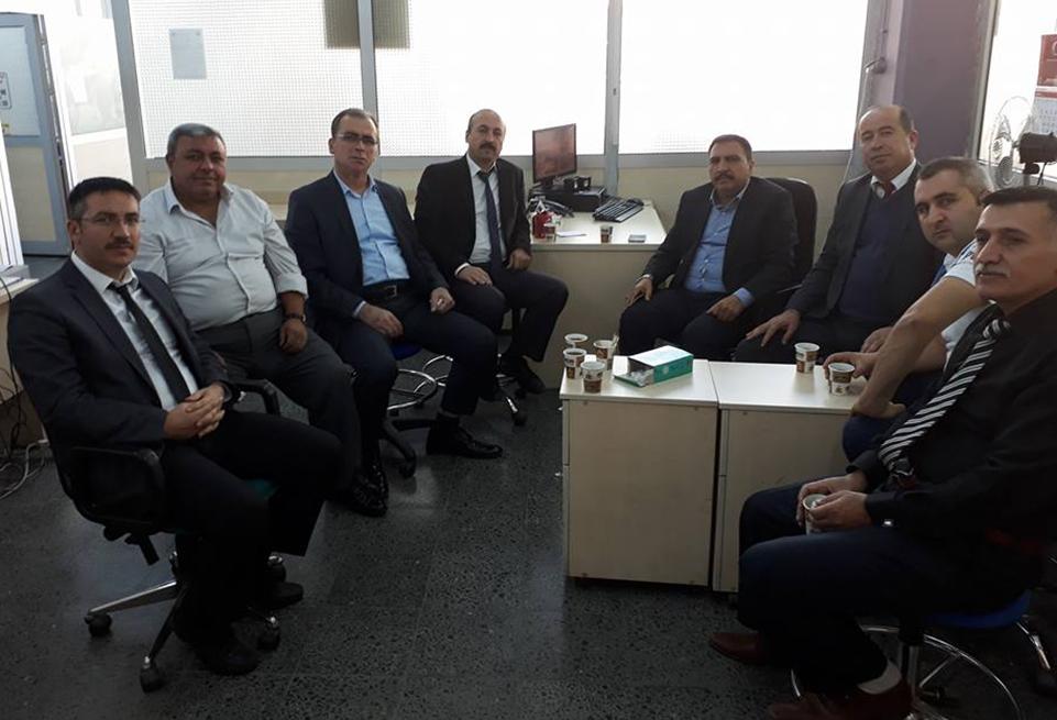 Başkanlarımız Ankara Posta İşleme Merkezini Ziyaret Ettiler