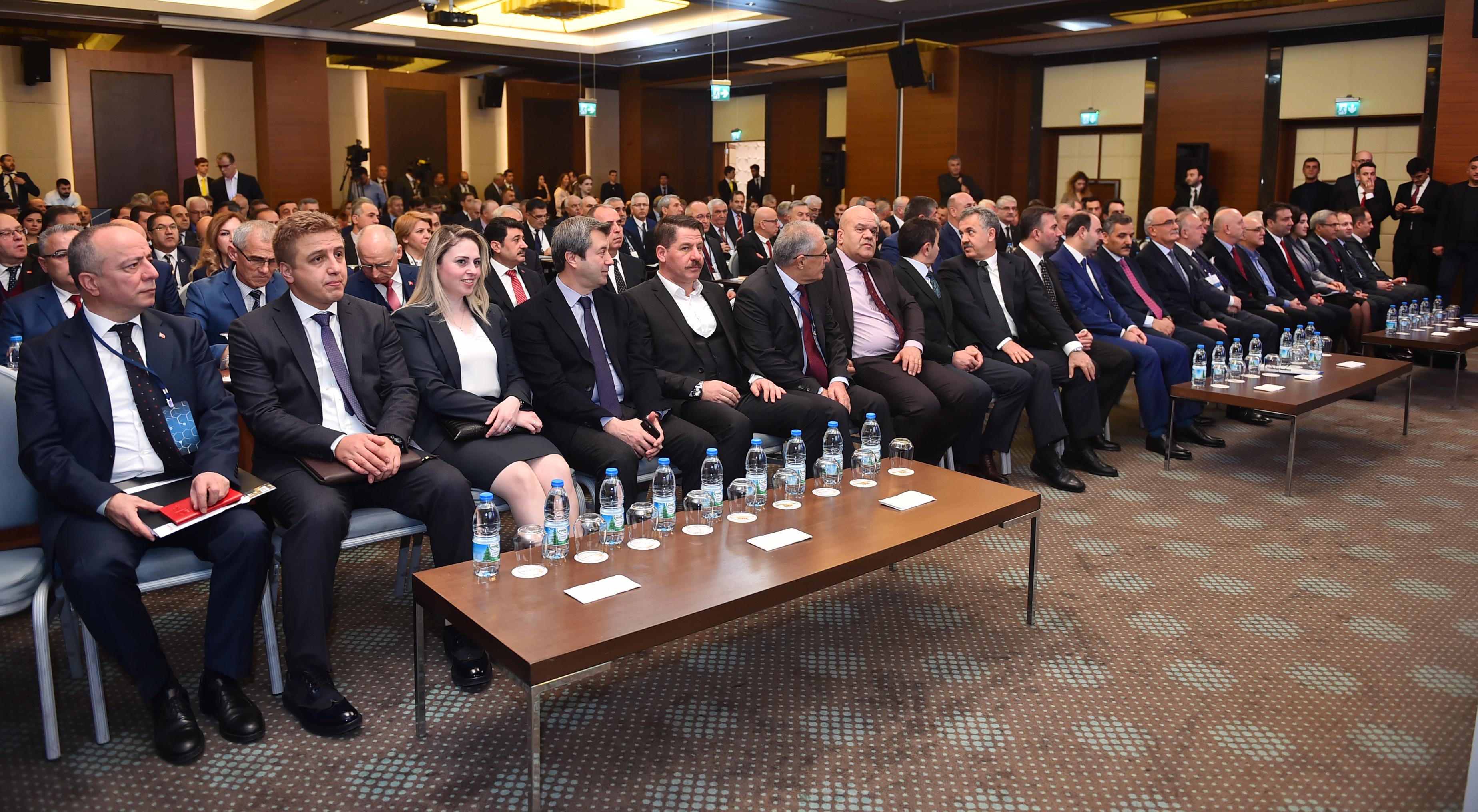 Başkanlarımız Başmüdürler Toplantısına Katıldılar