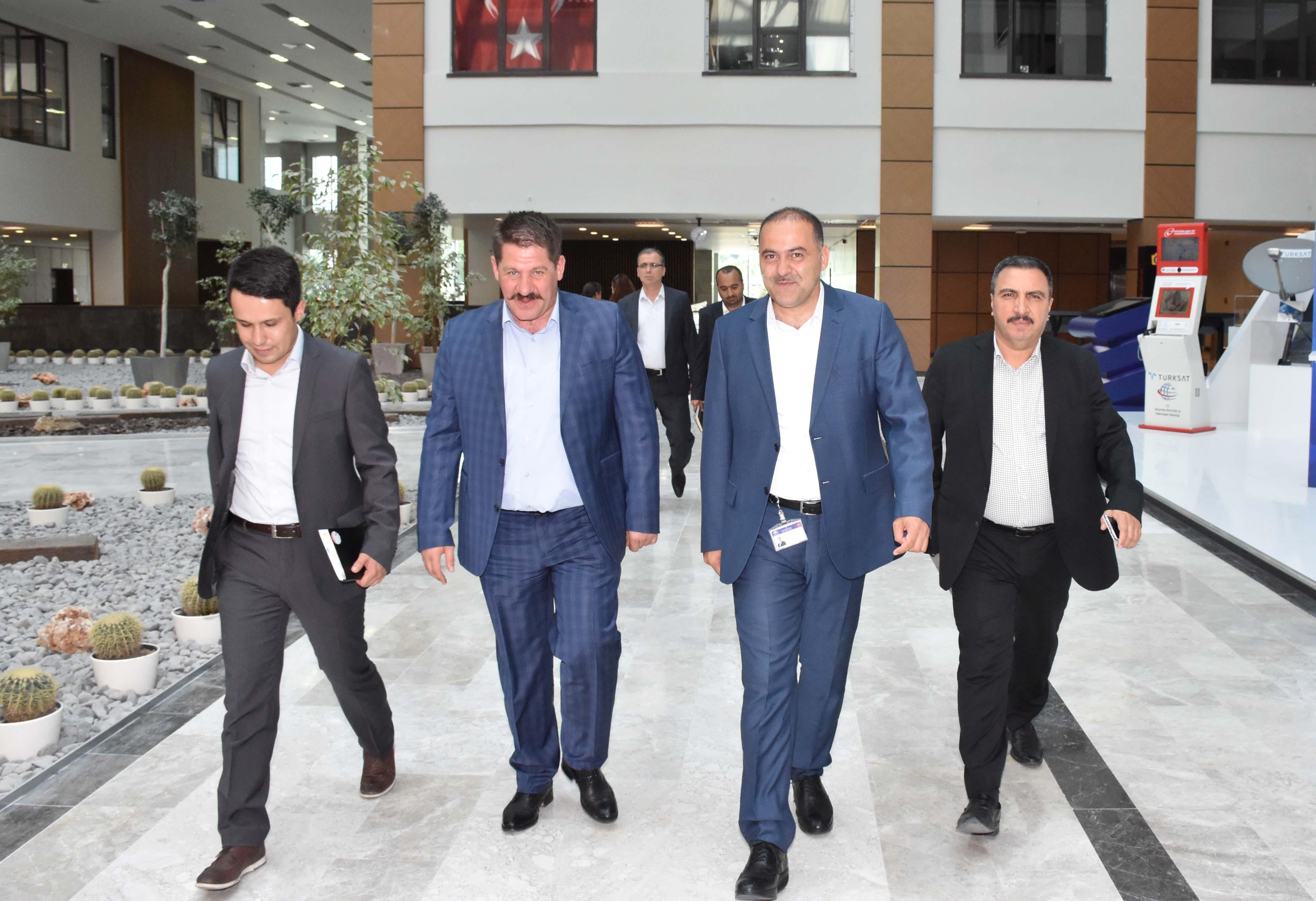 Başkanlarımız BTK Başkanı Sayan'ı Ziyaret Ettiler