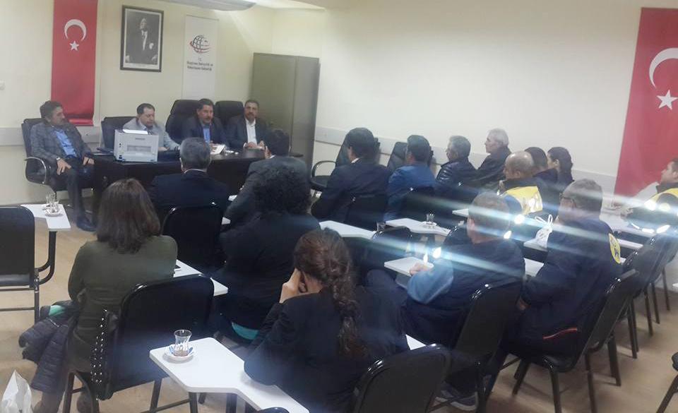 Başkanlarımız Denizli'de İşyeri Temsilcilerimizle İstişare Toplantısı Yaptılar