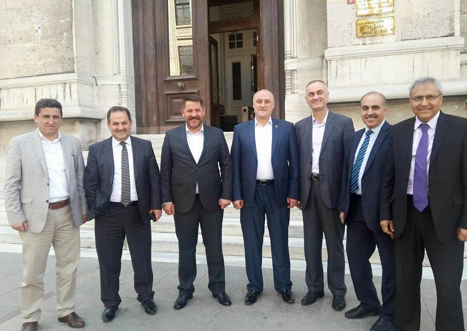 Başkanlarımız İstanbul Avrupa Yakası Teşkilatımızı Ziyaret Ettiler