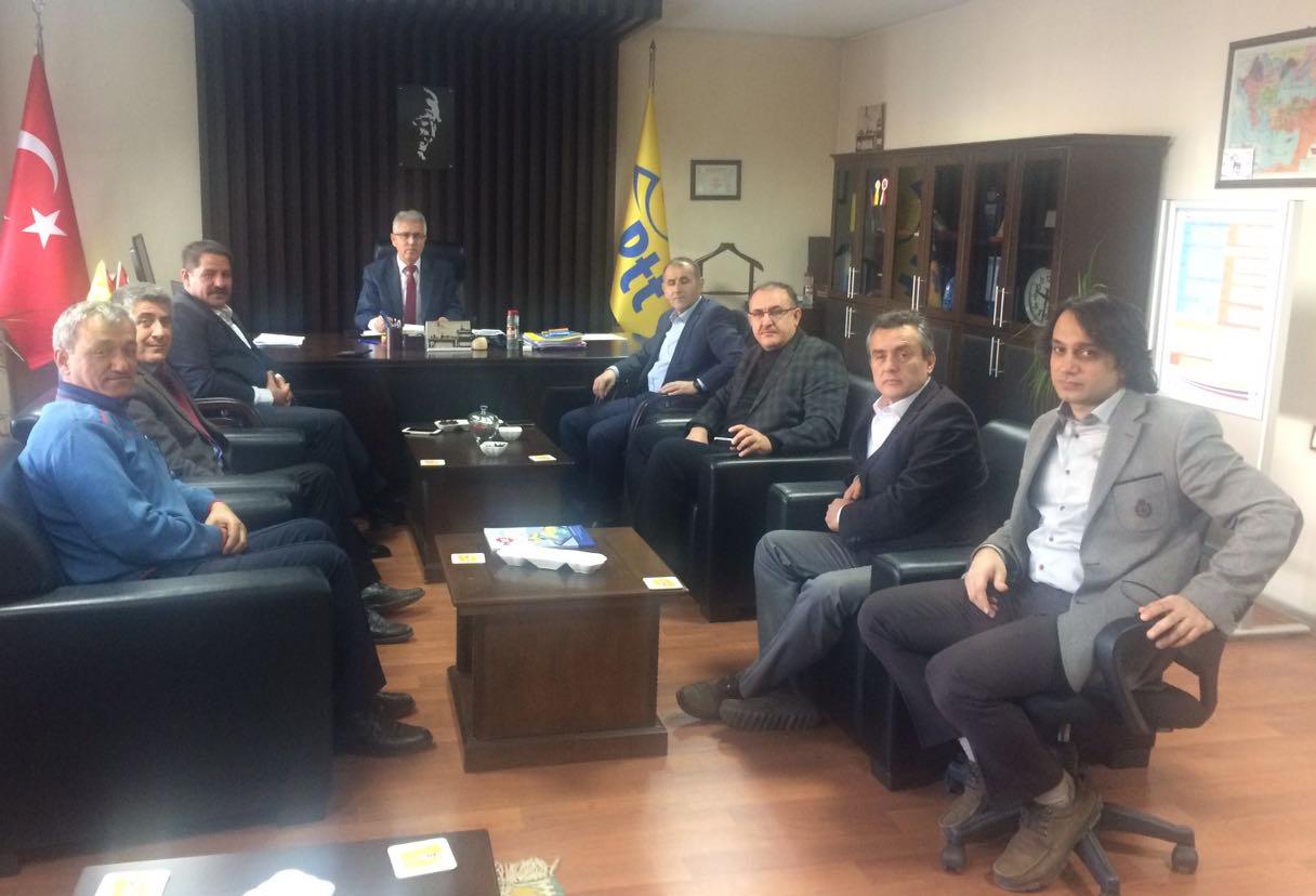 Başkanlarımız Kayseri Teşkilatımızı Ziyaret Etti