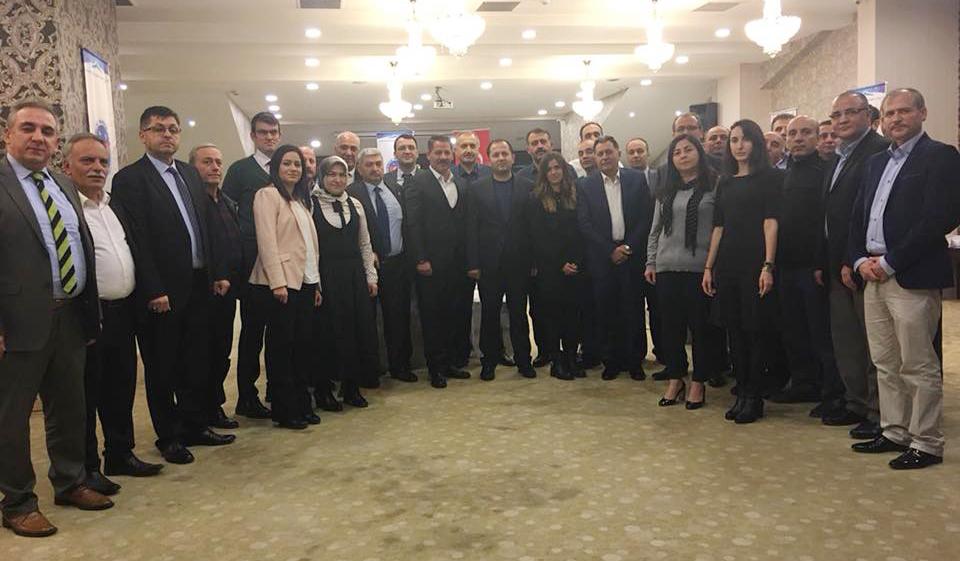 Başkanlarımız Samsun Şubemizin Düzenlediği Temsilciler Toplantımıza Katıldılar