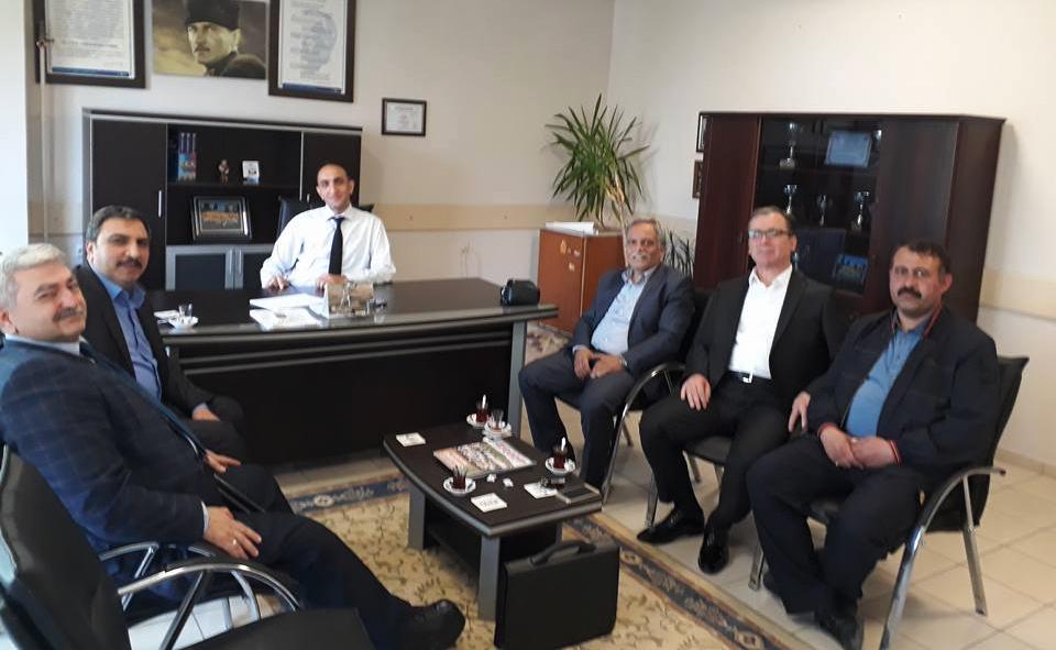 Başkanlarımız Samsun Teşkilatımızı Ziyaret Ettiler