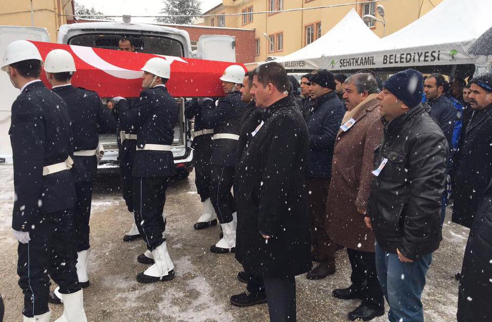 Başkanlarımız Şehit Polis Bozgeyik' İn Cenaze Törenine Katıldılar