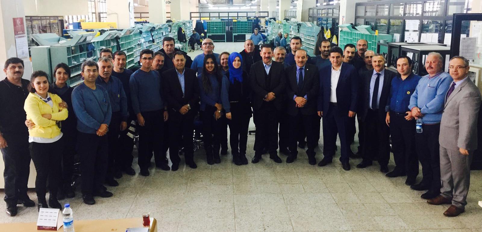 Başkanlarımız Sivas Teşkilatımızı Ziyaret Etti