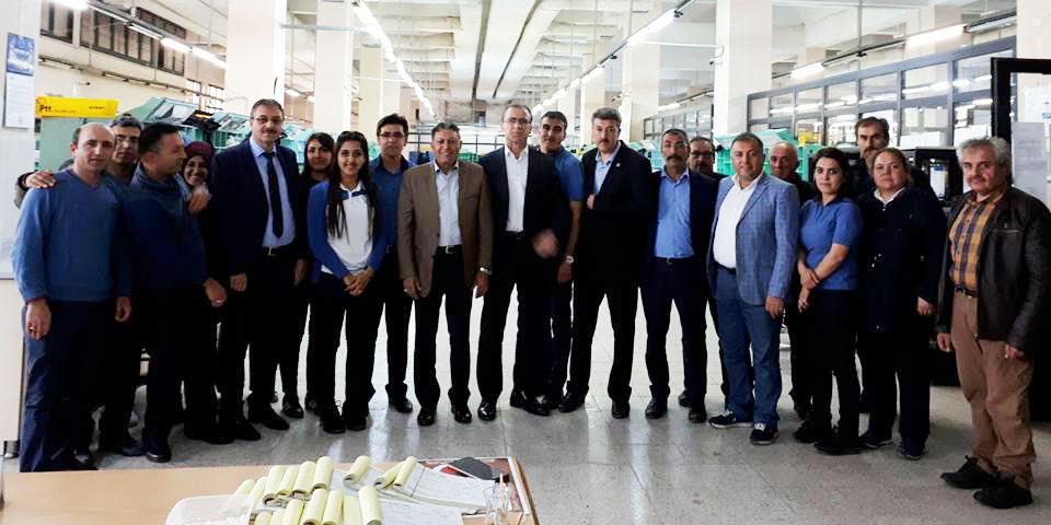 Birlik Haber-Sen, Sivas Teşkilatını Ziyaret Etti