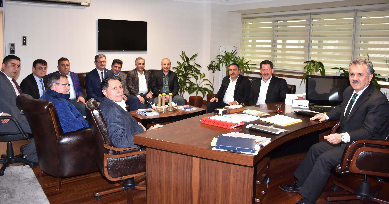 Birlik Haber-Sen'den PTT A.Ş. Bürokratlarına Ziyaret