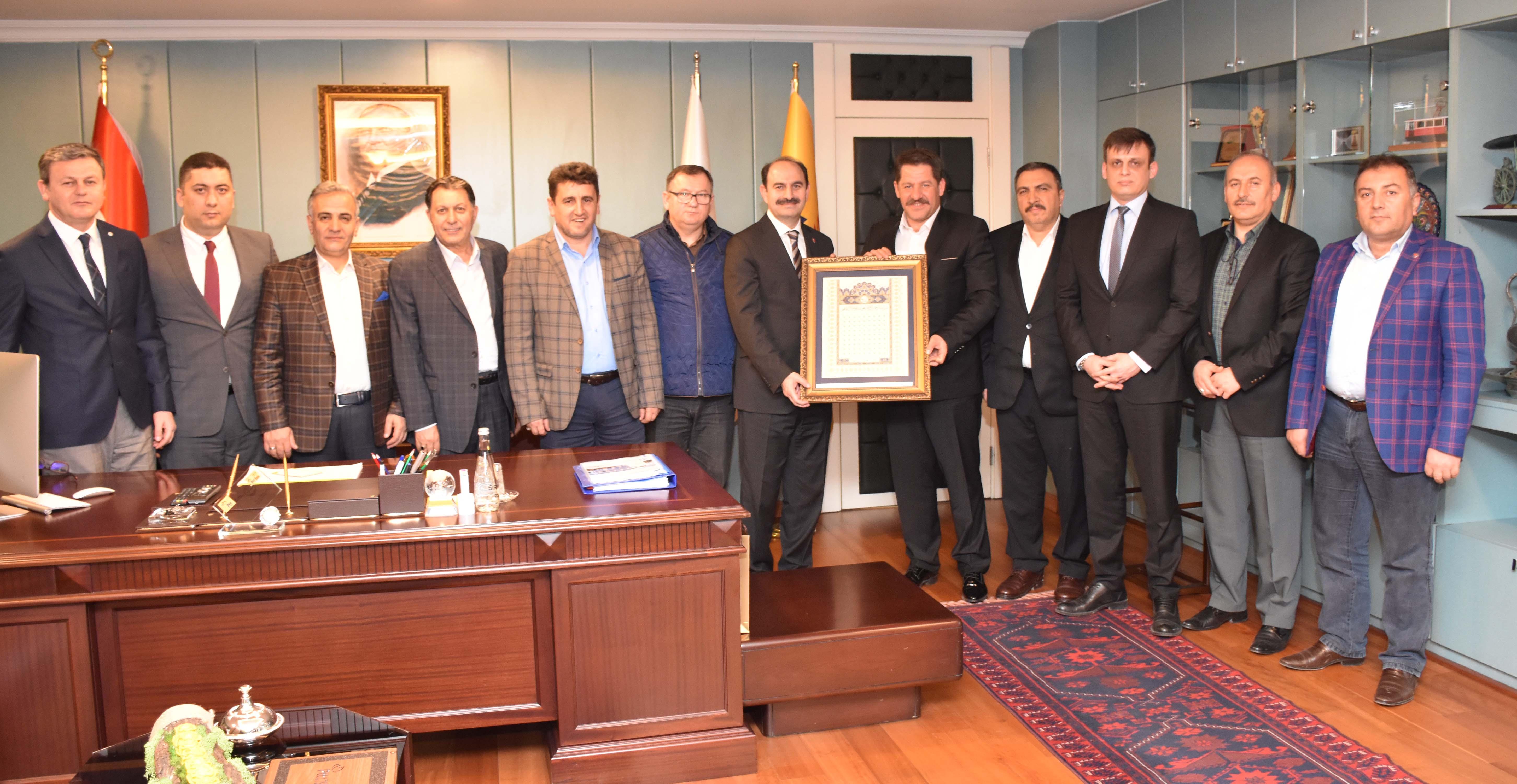 Birlik Haber-Sen'den PTT A.Ş. Genel Müdürü Bozgeyik'e Ziyaret