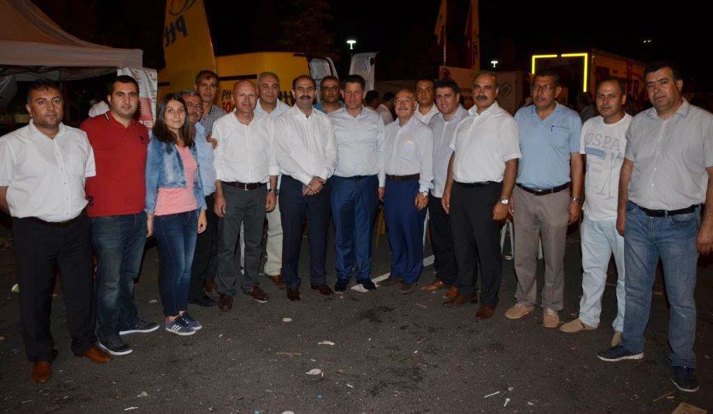 BİRLİK HABER-SEN'DEN PTT A.Ş. STANTTINA ZİYARET