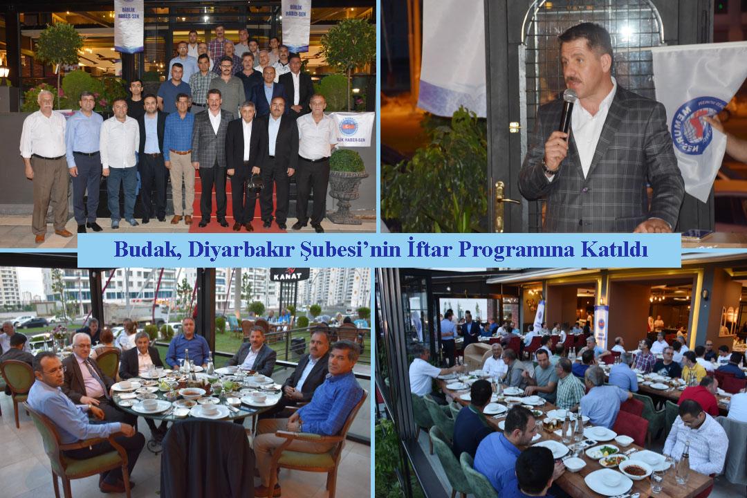 Budak ve Boskurt, Diyarbakır Şubesi'nin İftar Programına Katıldı