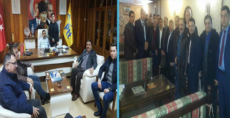 Burgaç, Boskurt Eskişehir ve Bursa Teşkilatlarımızı Ziyaret Etti