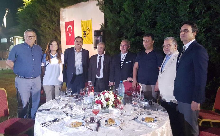 Burgaç, PTT A.Ş. Hatay Başmüdürlüğünün İftarına Katıldı