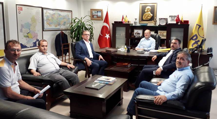 Burgaç ve Karagöz Adana Teşkilatımızı Ziyaret Ettiler