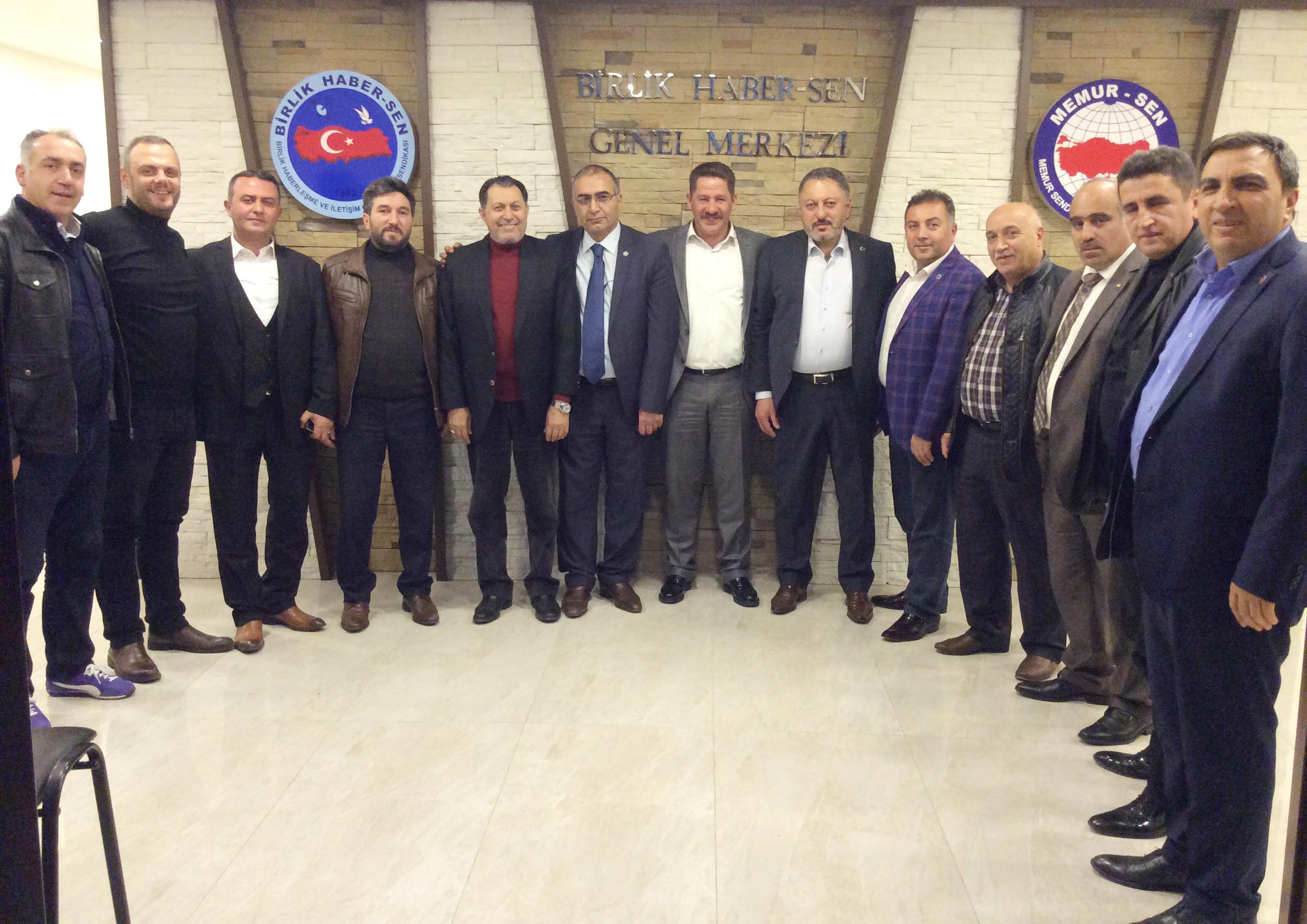 Erzurum Memur-Sen'den Sendikamıza Ziyaret