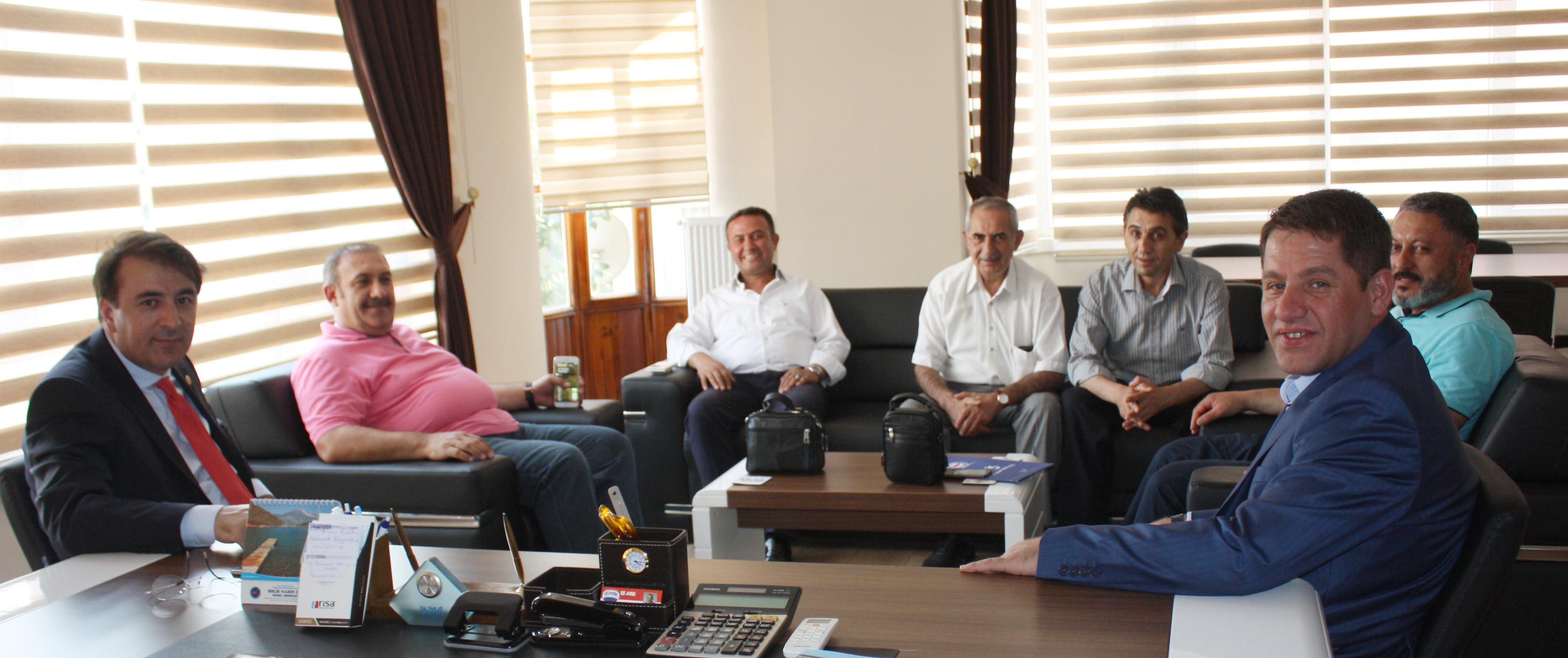 Erzurum Milletvekili Aydemir'den, Budak'a Hayırlı Olsun Ziyareti