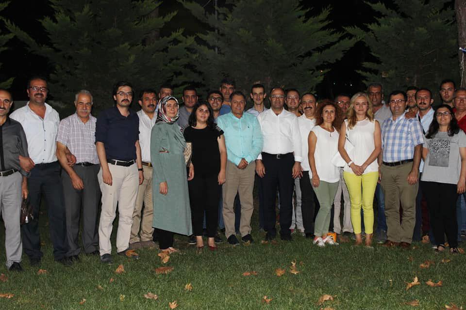 İnaltekin, Bursa'da Temsilciler Toplantısına Katıldı