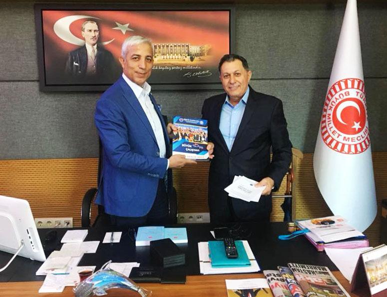 İnaltekin'den Kars Milletvekili Kılıç'a Ziyaret