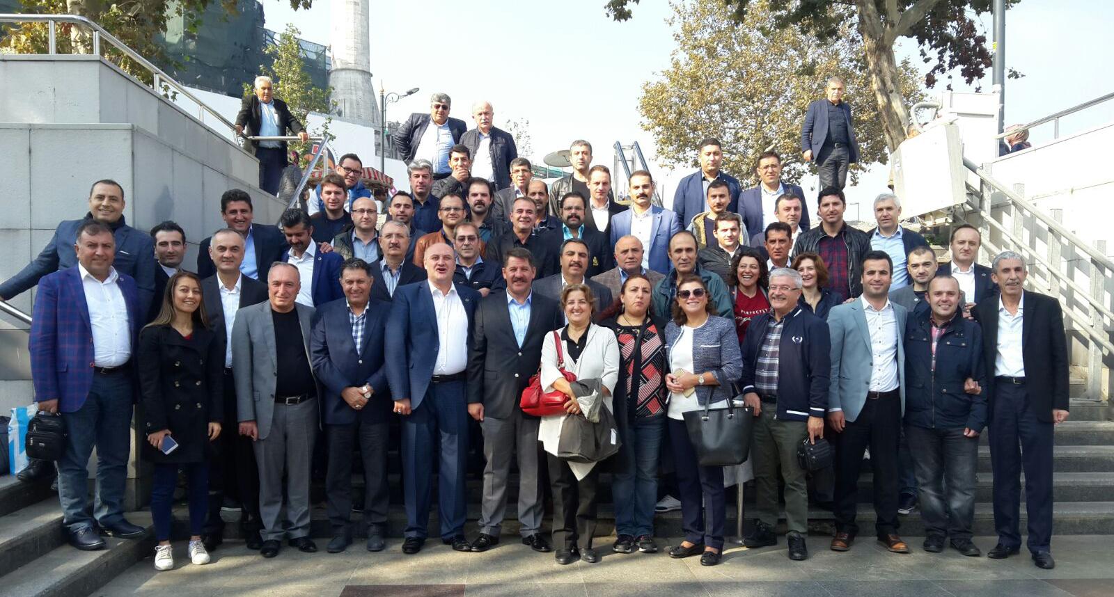 İstanbul 15 No'lu Şube Temsilcilerimiz Kahvaltıda Biraraya Geldi