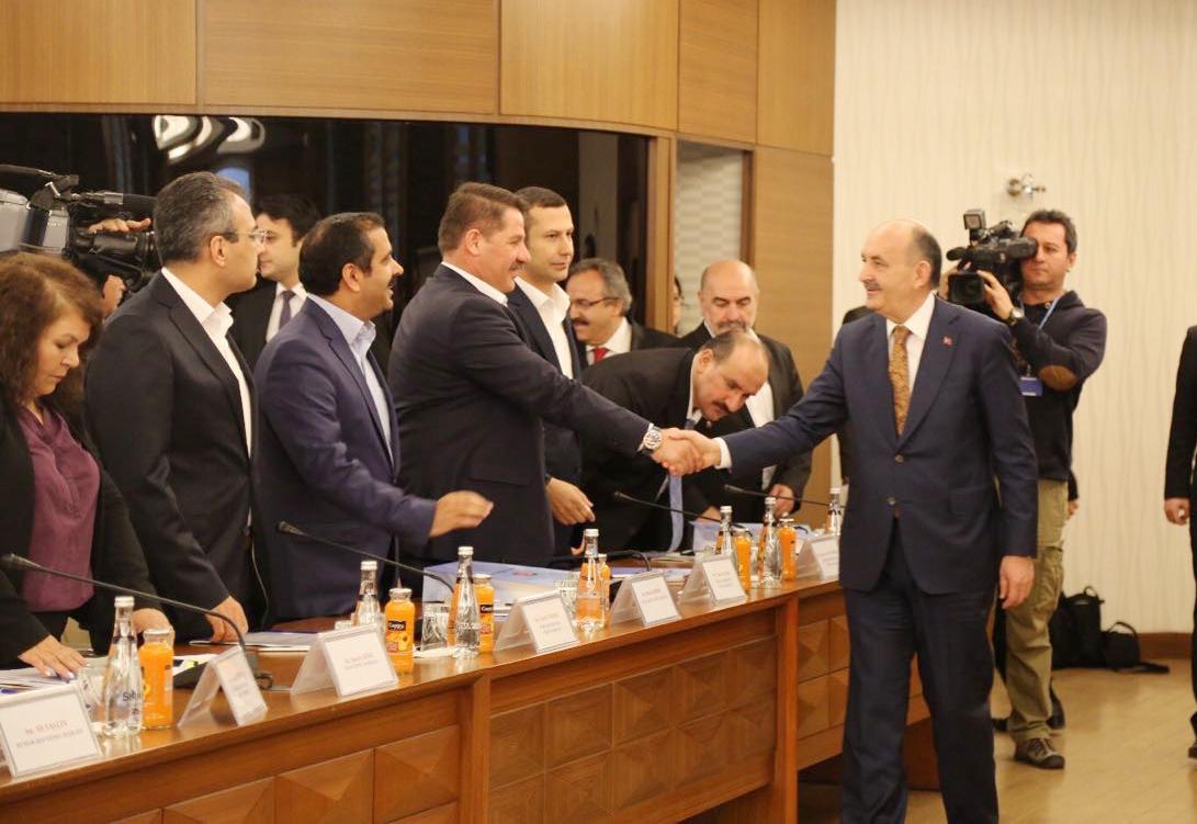 KPDK Taleplerimizi Genel Başkan Budak, Bakan Müezzinoğluna İletti