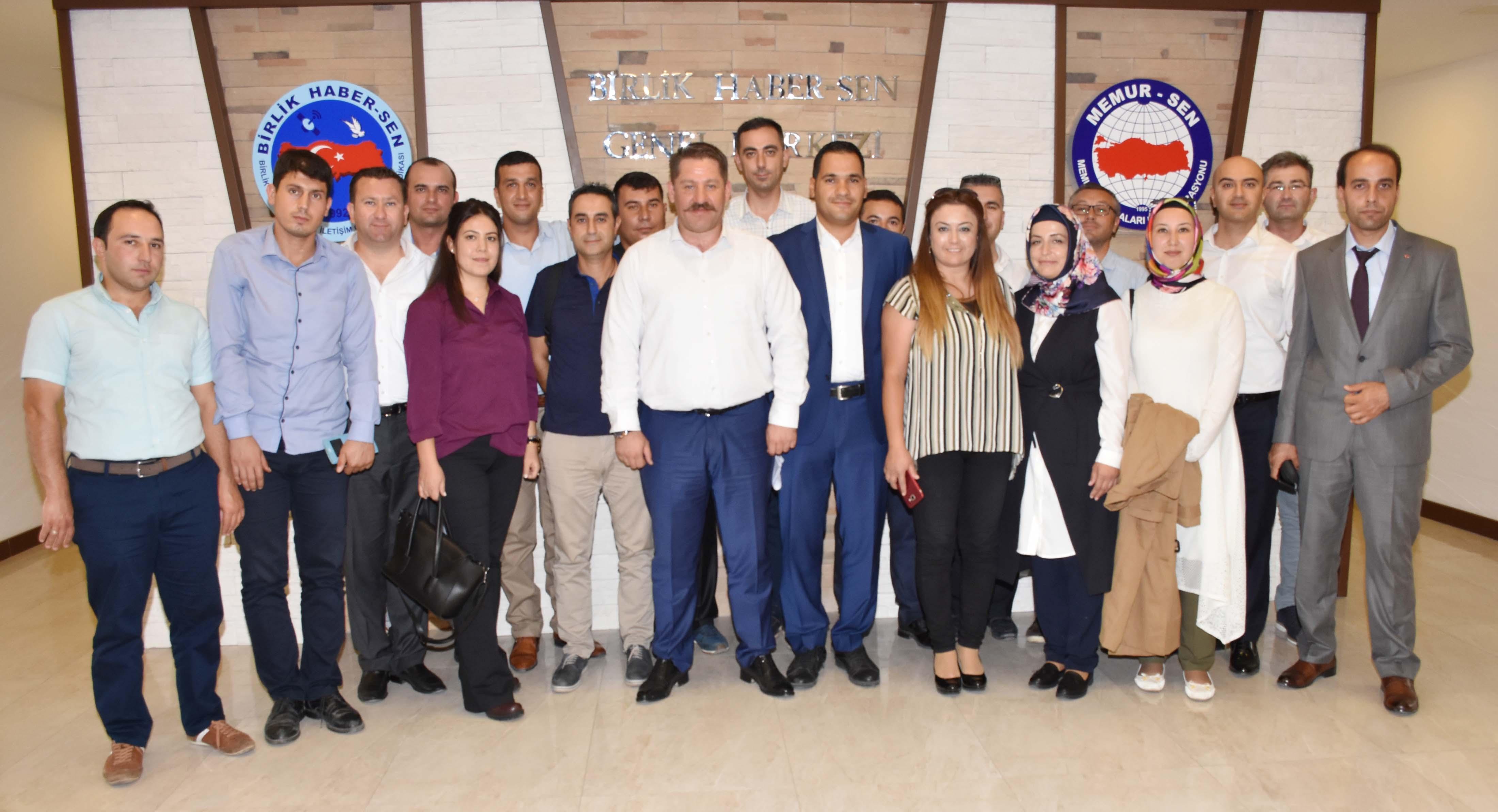 PTT A.Ş.'de Çalışan Dağıtıcılardan Sendikamıza Ziyaret