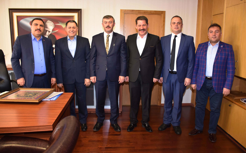 Sendikamızdan, TRT Genel Müdür Yardımcılığına Atanan Kaya'ya Hayırlı Olsun Ziyareti