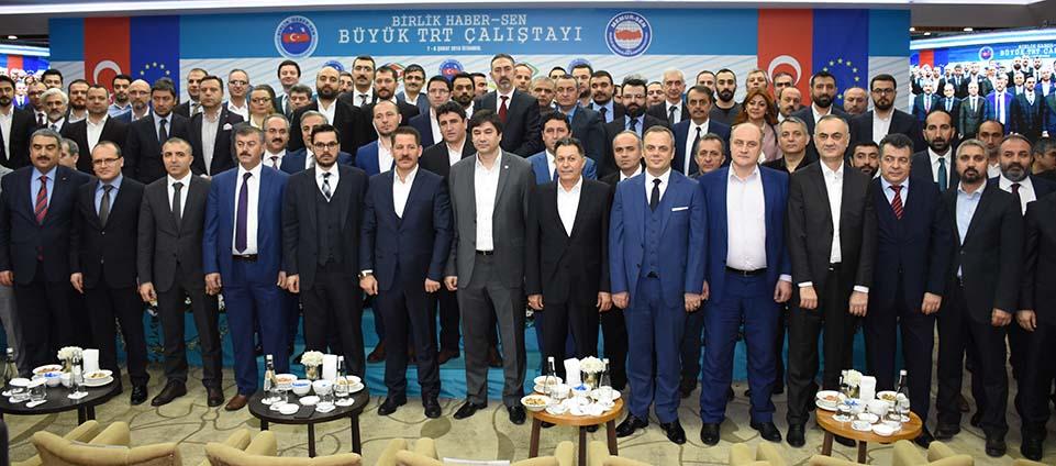 """TRT Çalışanlarının Sorunlarının Tartışıldığı """"Büyük TRT Çalıştayımız"""" Tamamlandı"""