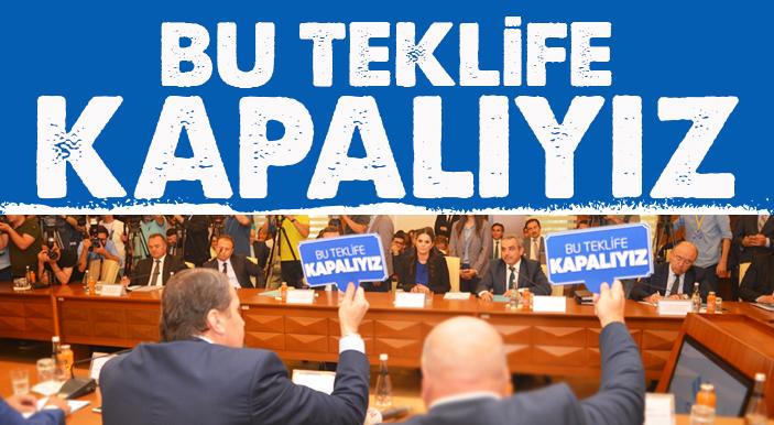 Yalçın: Bu Teklif Yeni Türkiye'ye Yakışmıyor