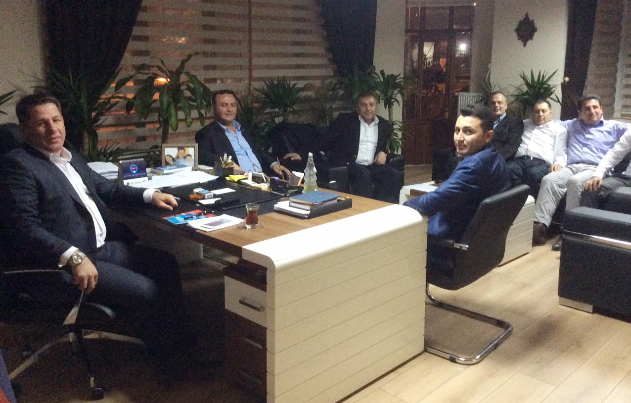 YARDIMCI DOÇENT DOKTOR İNALTEKİN'DEN BUDAK'A ZİYARET